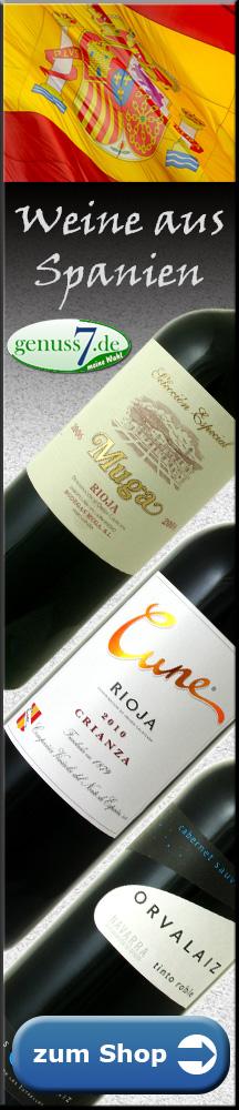 Rotweine Spanien bestellen